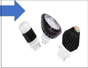 Halogen to LED Conversion